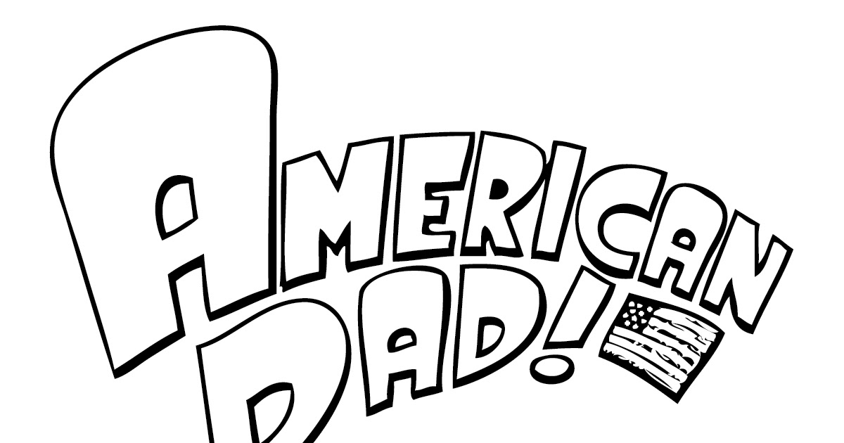 1200x630 Famous American Dad Coloring Pages Pictures
