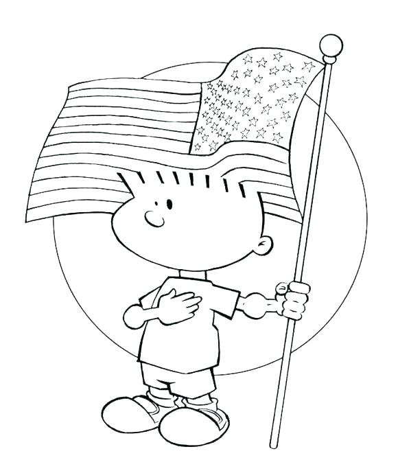 580x686 First Flag Coloring Page Flag Color Page Plus Flag First Flag
