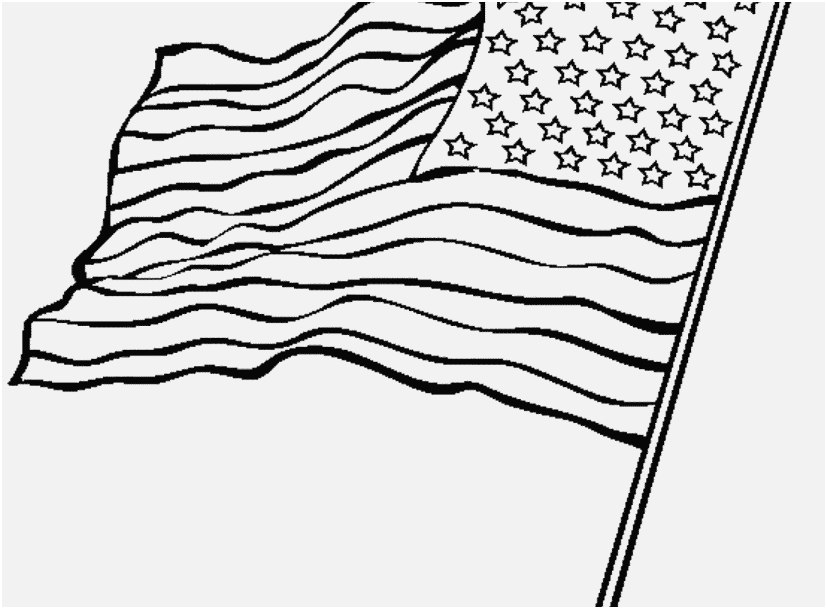 827x609 Flag Coloring Pages View American Flag Coloring Page For The Love