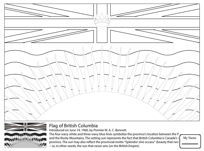 1530x1131 Surging Prince Edward Island Flag Coloring Pag