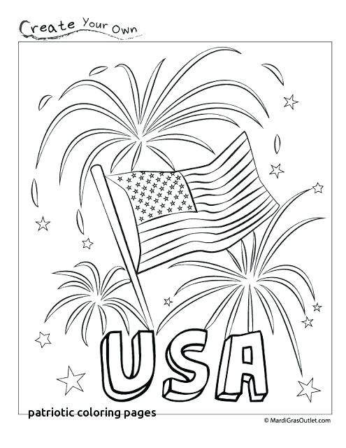 495x640 American Flag Coloring Page