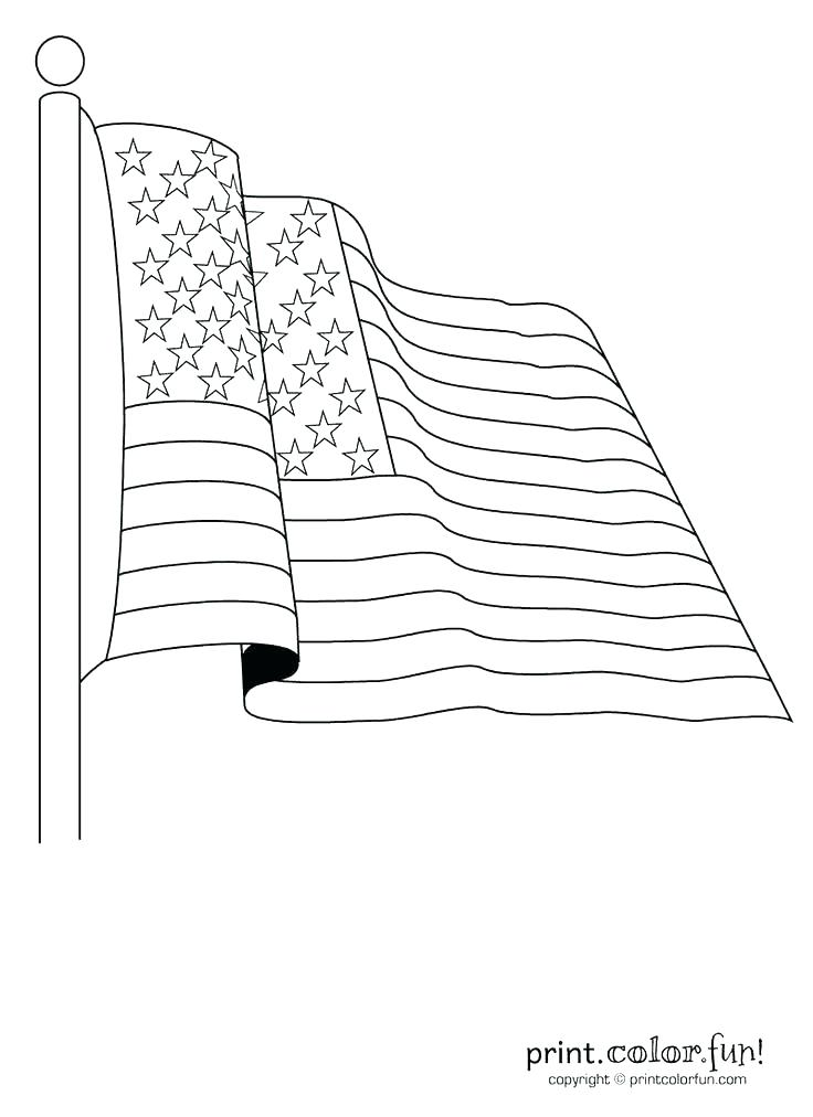 736x1012 Usa Flag Coloring Page Coloring Pages The Best N Flag Coloring