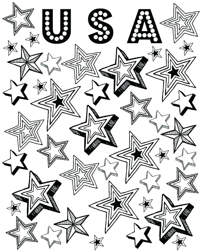 700x875 American Flag Coloring Pages