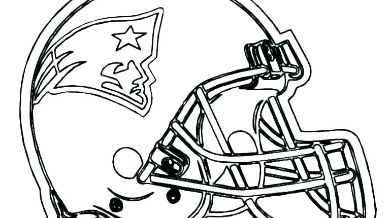 770x430 Football Coloring Pages Nfl Helmets Coloring Pages Football