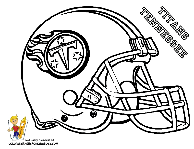 792x612 Nfl Football Coloring Pages Printable Free Coloring Pages
