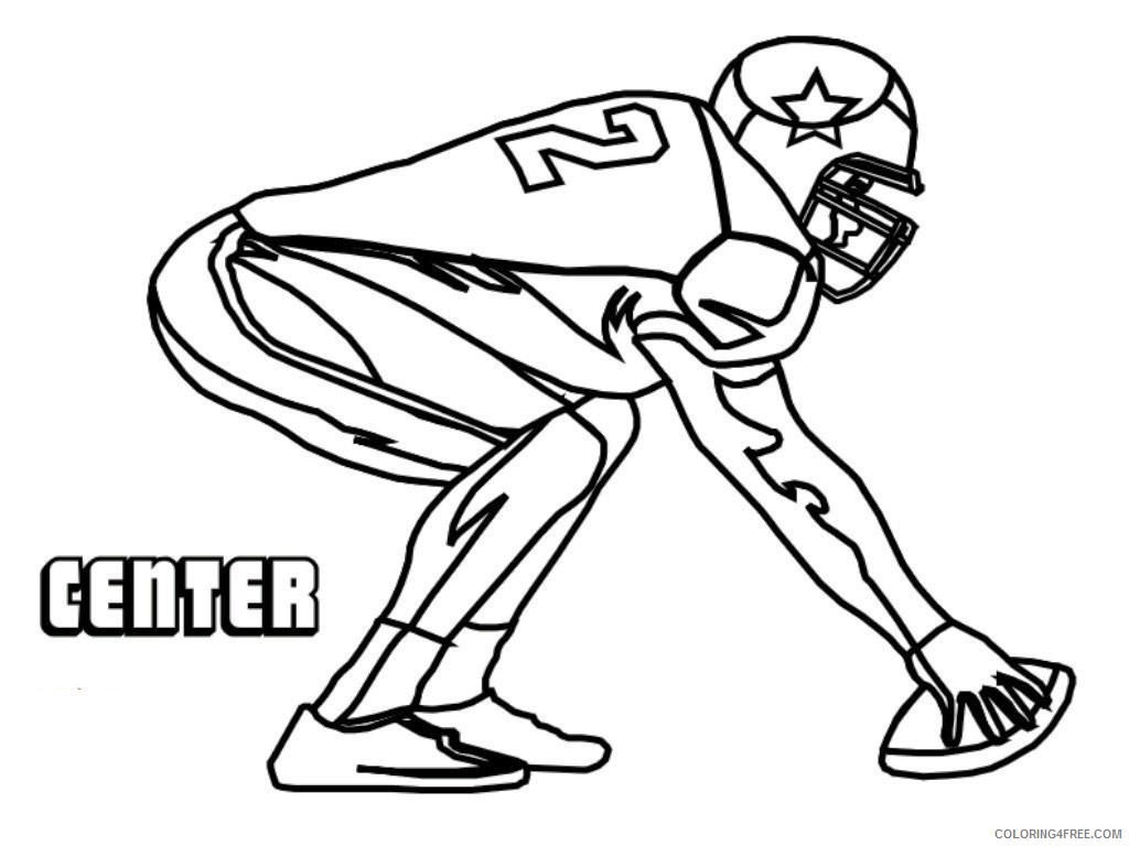 1024x768 Ball Of American Football Coloring Pages