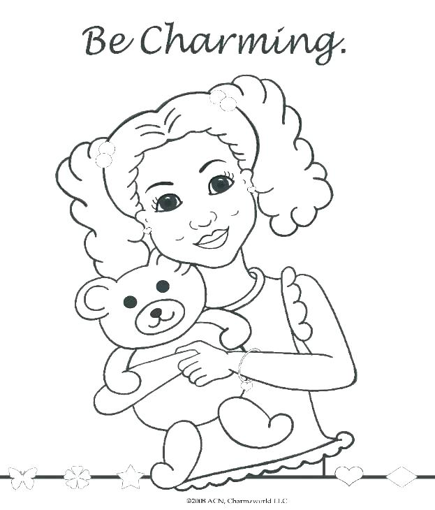 623x730 Coloring Pages Girl Girl Doll Coloring Pages Free Coloring Pages