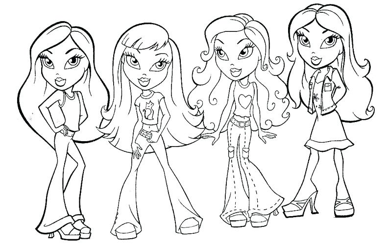 794x506 American Girl Color Pages Free Printable Girl Doll Coloring Pages