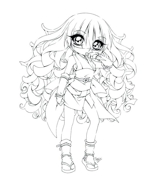 600x729 Free Girl Coloring Pages Free Coloring Pages Of Anime Ninja Girls