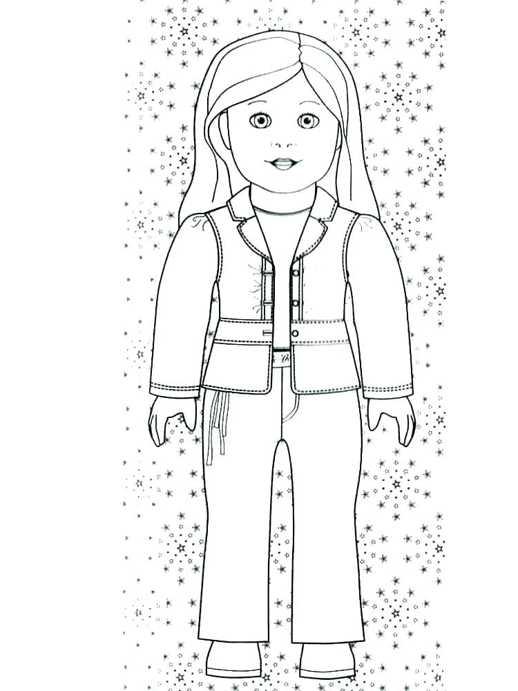 750x1000 Girl Coloring Pages Free Free Printable Girl Doll Coloring Girl