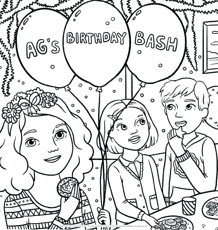 736x775 American Girl Coloring Page Get This Girl Coloring Pages Free