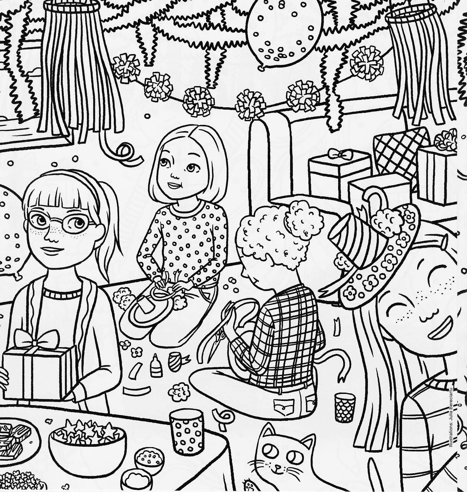 1518x1600 American Girl Coloring Pages
