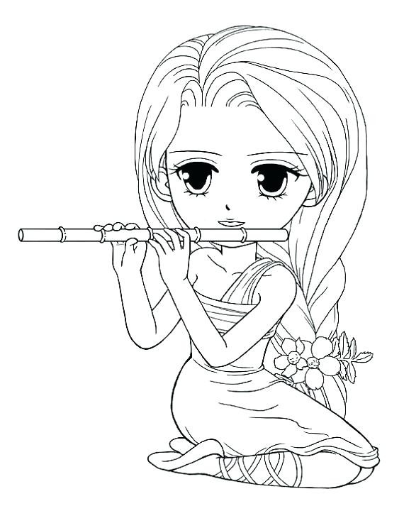 570x713 American Girl Coloring Pages Beautiful Girl Coloring Pages Free