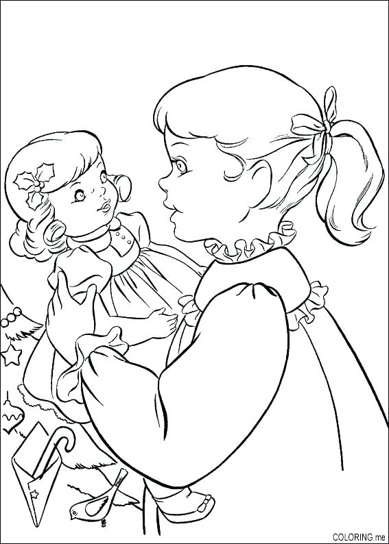 567x794 American Girl Coloring Pages Free Girl Coloring Pages Free Free