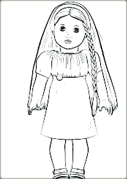 414x584 Coloring Pages American Girl Girl Coloring Pages Inspiring Girl