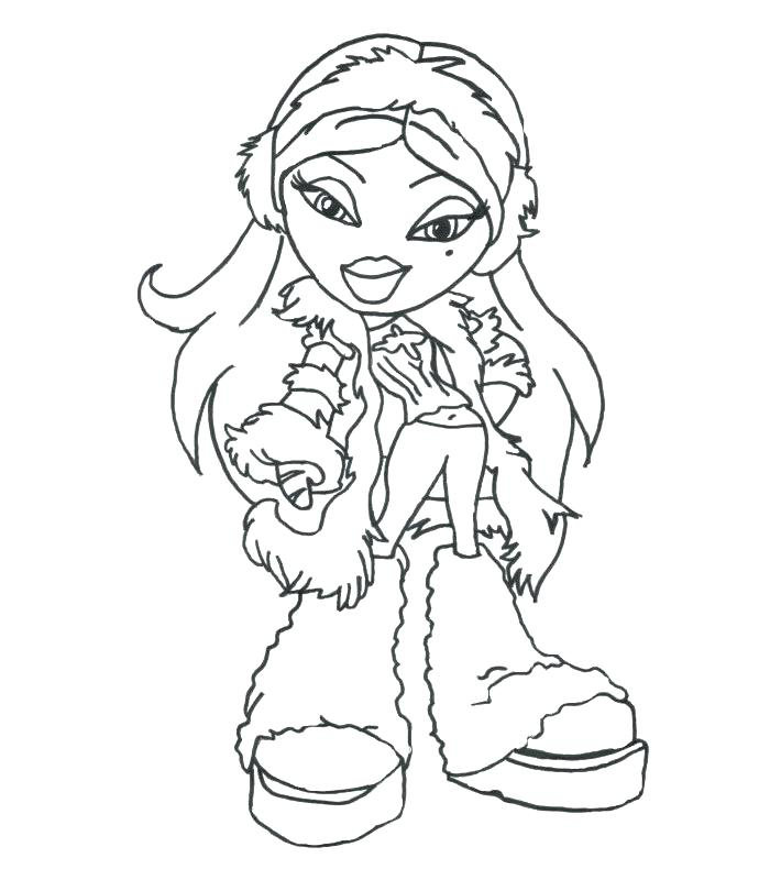 700x800 Doll Coloring Page Doll Coloring Pages Colouring Pages Doll