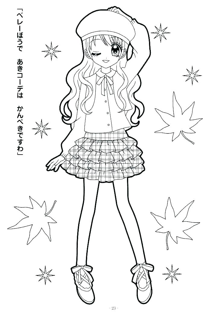 American Girl Doll Coloring Pages To Print at GetDrawings.com | Free ...