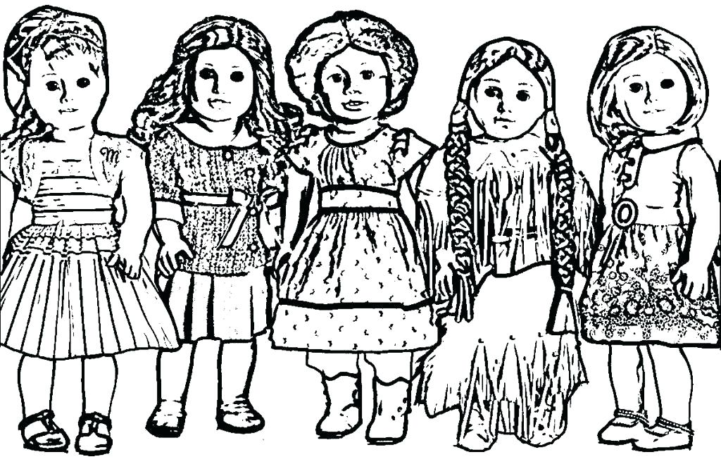1024x659 American Girl Doll Coloring Doll Coloring Pages Girl Grace