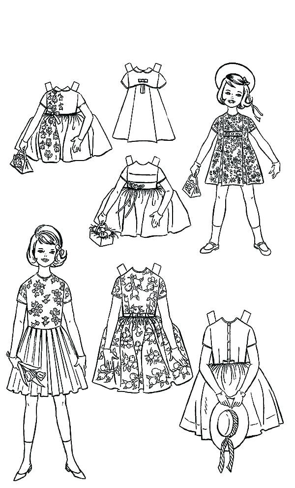 600x991 Girl Doll Coloring Page Baby Doll Coloring Pages Free Girl Doll