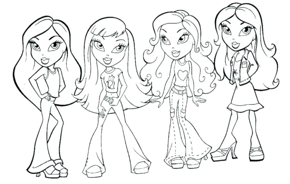 960x611 American Girl Color Pages Girl Coloring Pages Top Girl Coloring