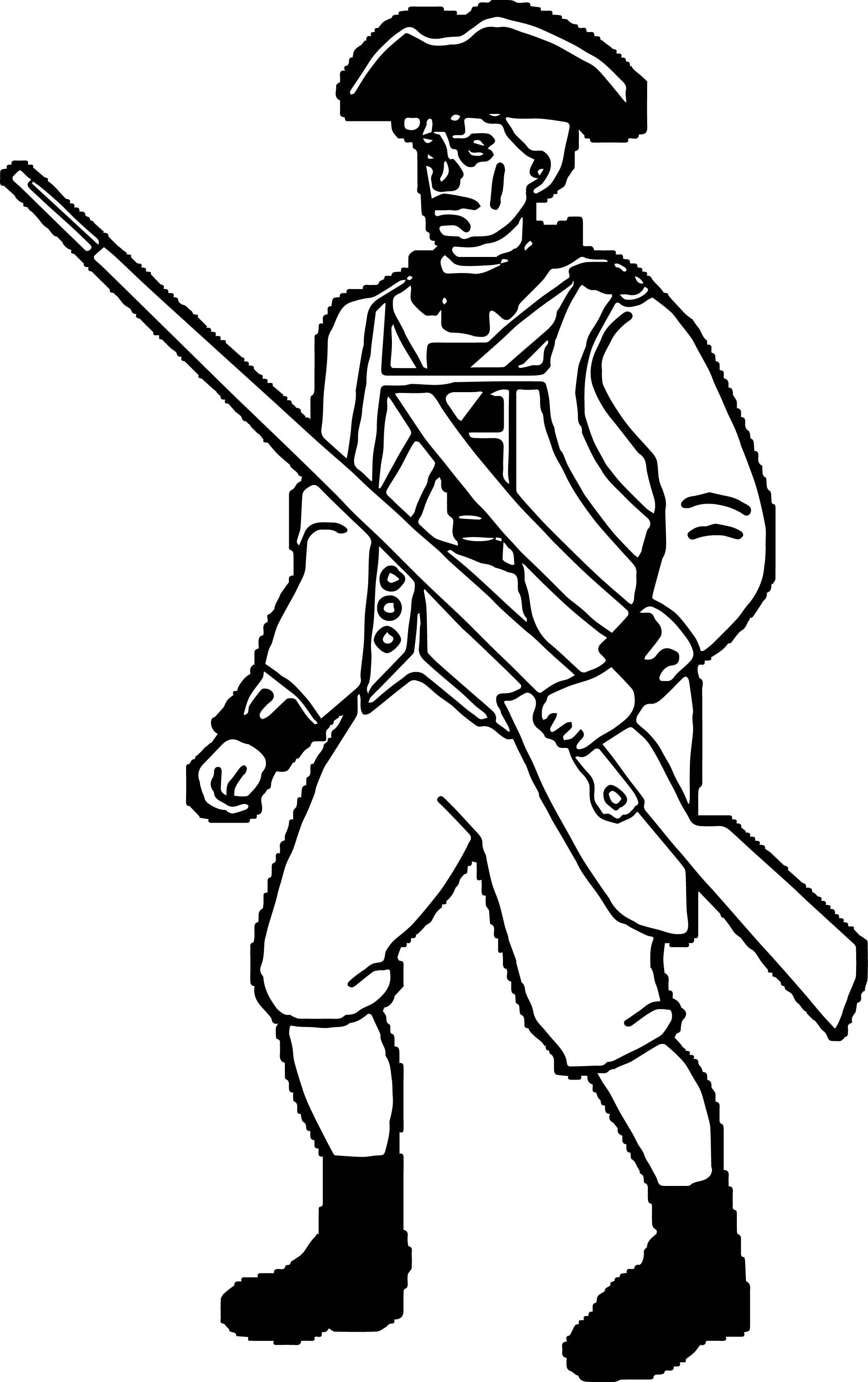 American Revolution Coloring Pages At Getdrawings Com Free For