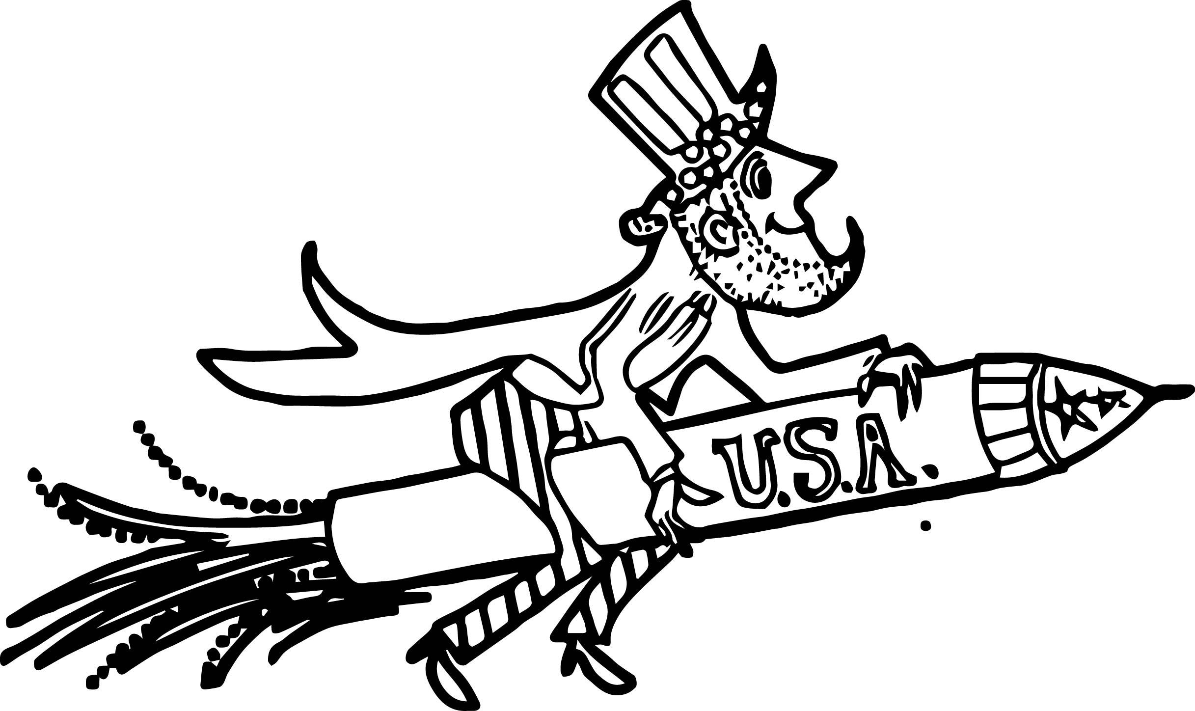2434x1448 American Revolution Uncle Sam American Patriotic Rocket Firework