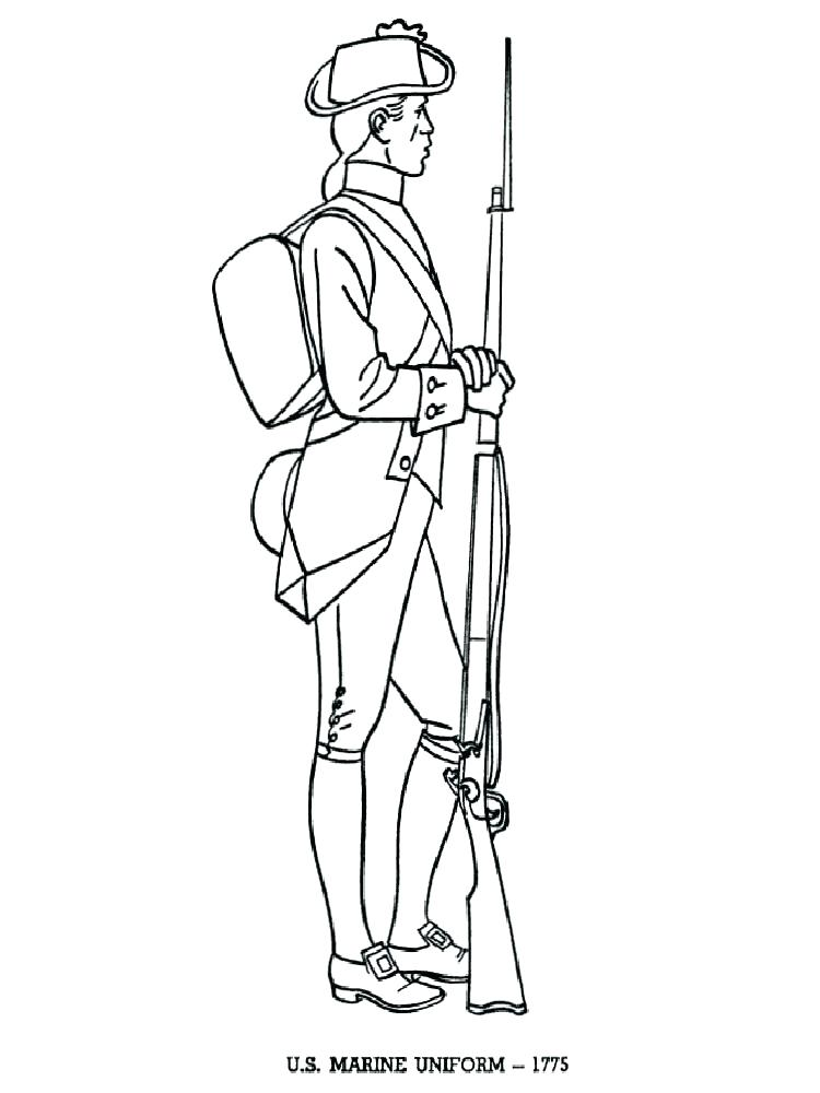 750x1000 Revolution Coloring Pages And Revolutionary War Coloring