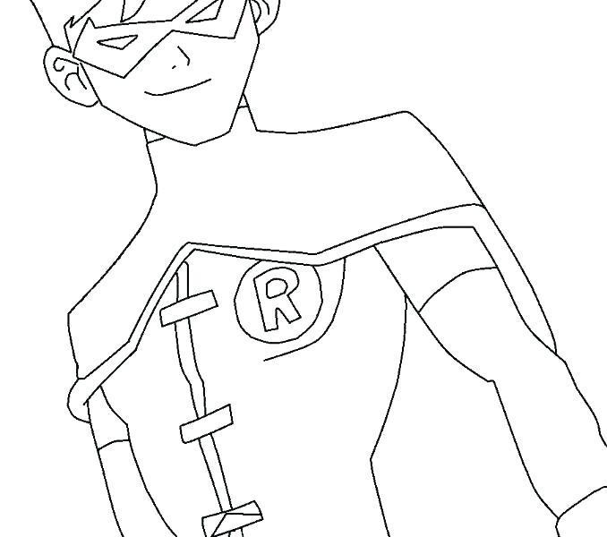 678x600 Robin Coloring Pages Robin Coloring Page Drawing Robin Bird