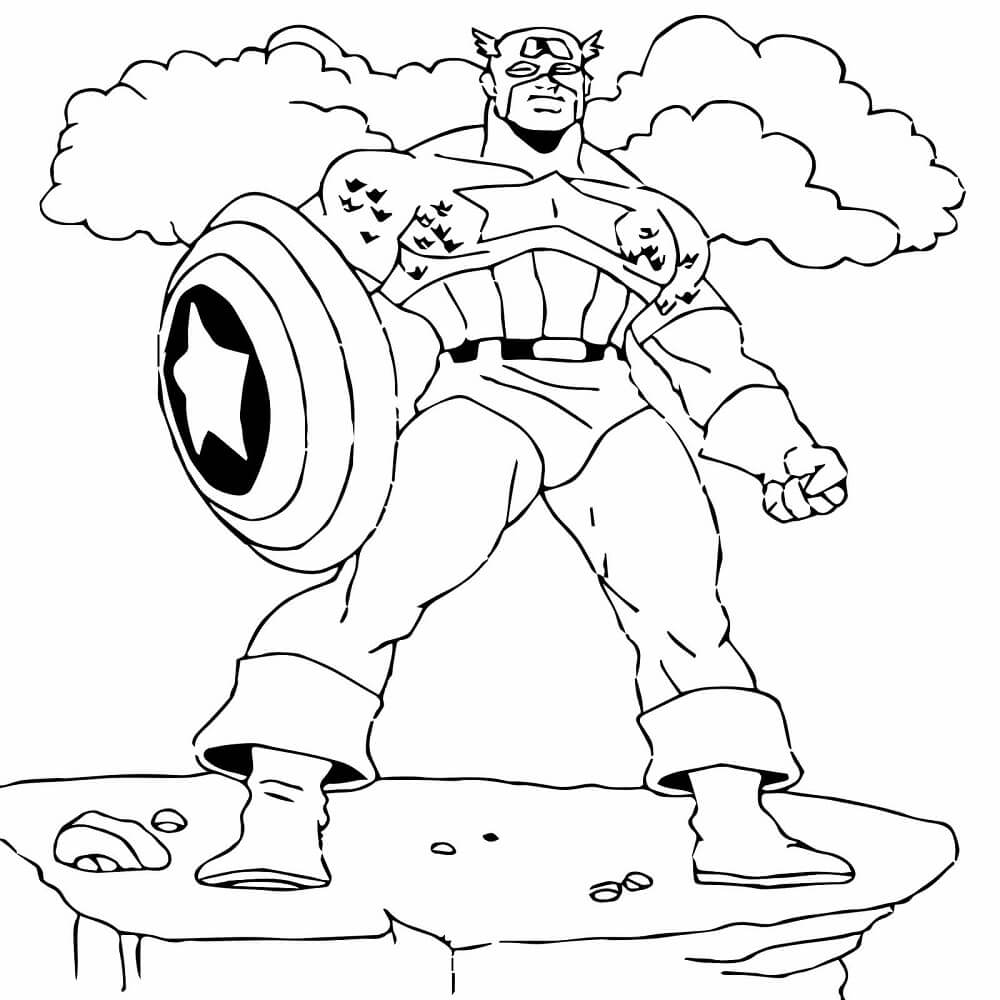 American Soldier Coloring Pages