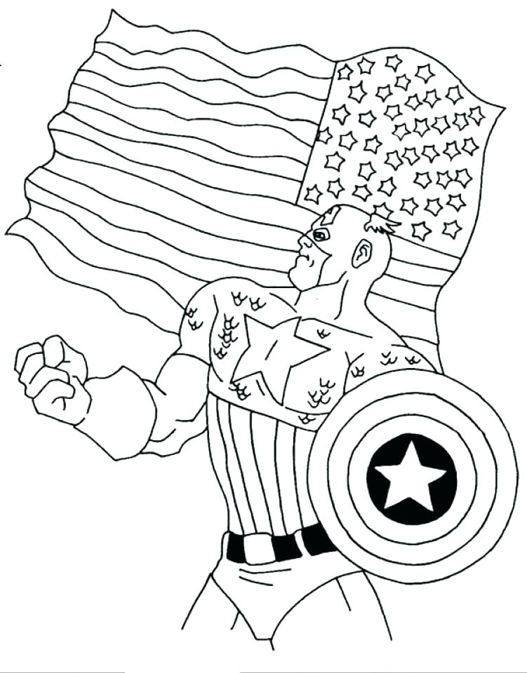 751x960 Captain America Coloring Picture Captain Coloring Pages Winter