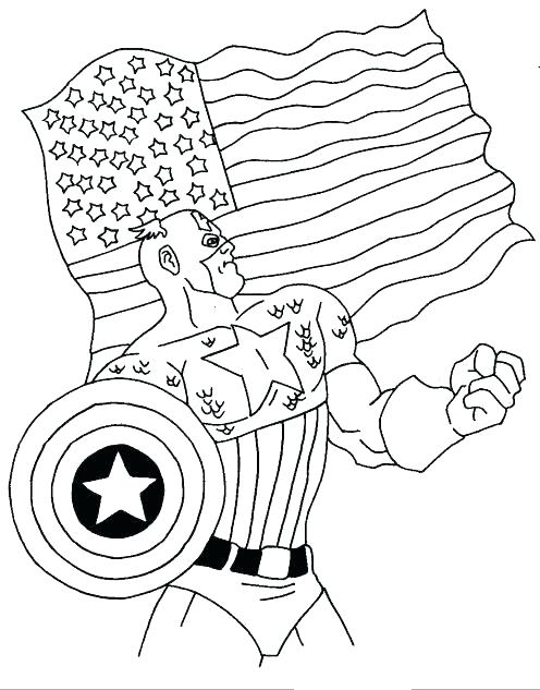 496x633 Captain Coloring Book Pages Get This Avengers Printable Captain
