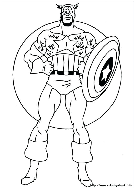 567x794 America Coloring Pages Captain Winter Soldier Coloring Pages