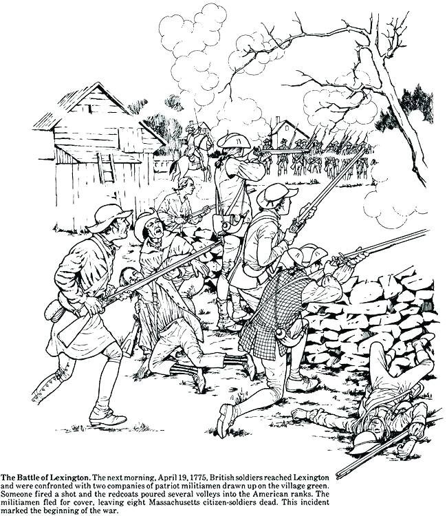 650x750 American Revolution Coloring Pages Good Revolution Coloring Pages
