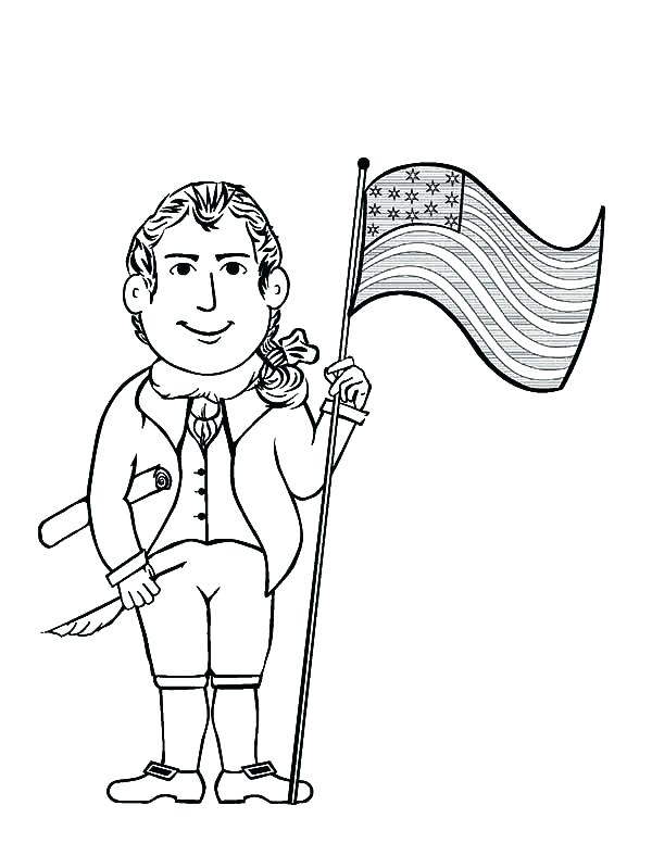 600x776 American Revolution Coloring Pages Revolution Coloring Pages