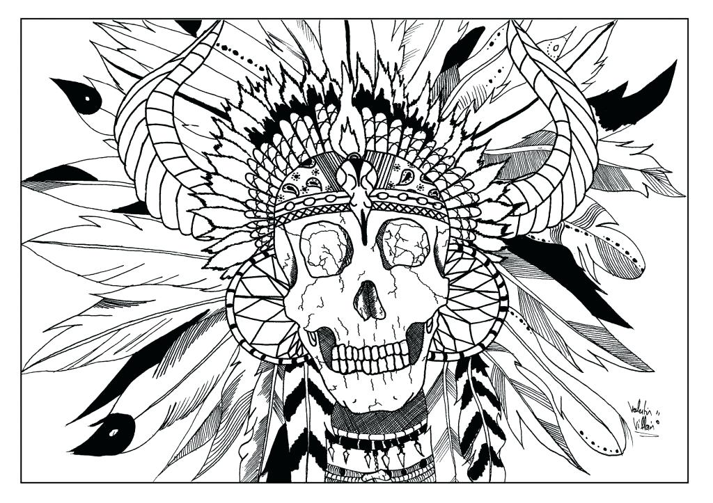 1024x723 Native American Coloring Pages Native American Coloring