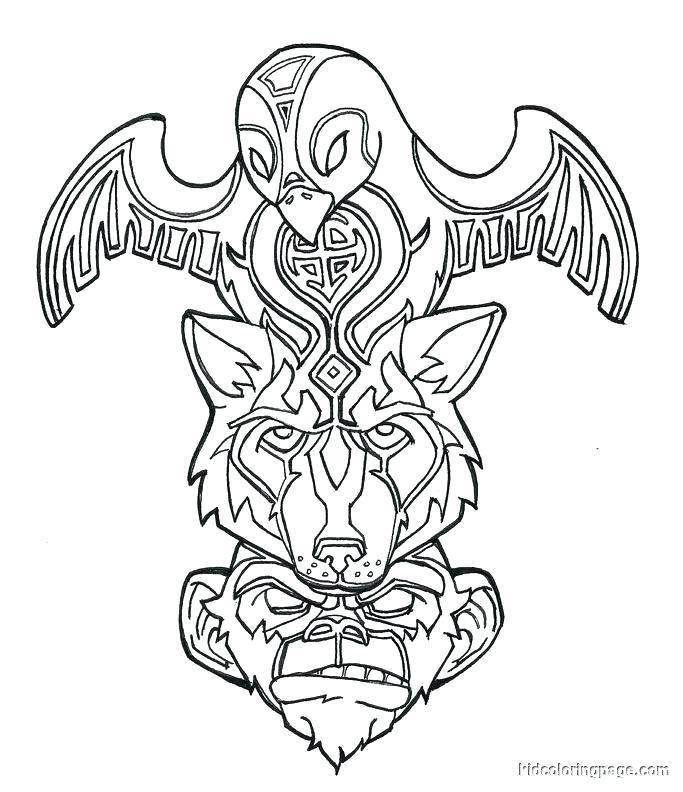683x792 Native Symbols Drawing At Free For Native Symbols Native American
