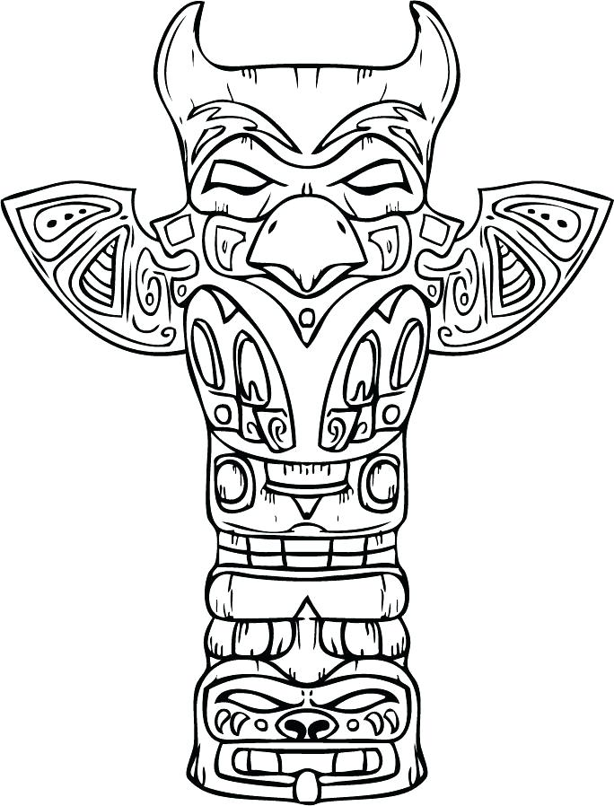 684x898 American Symbols Coloring Pages