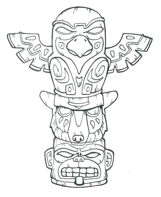 618x756 American Symbols Coloring Pages Symbols Coloring Pages Native