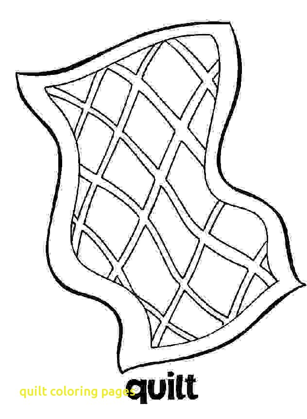 632x862 Quilt Coloring Pages With Amish Quilt Diamond Center Coloring Page