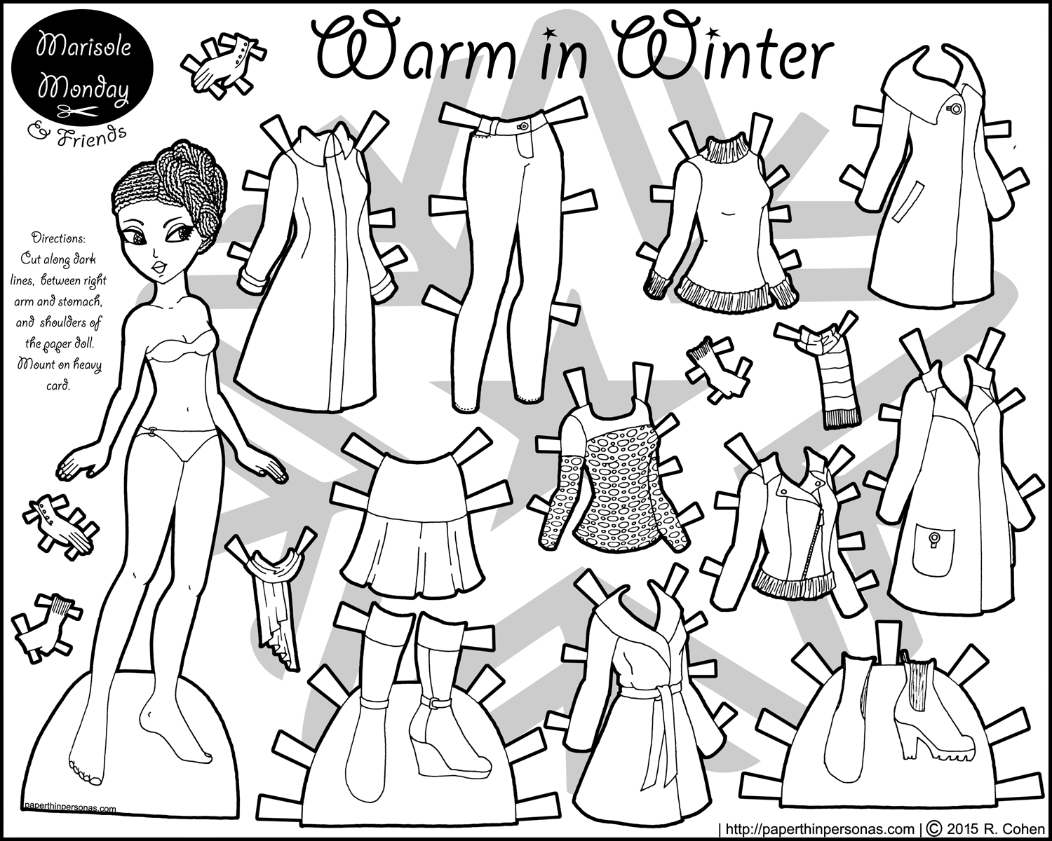 1500x1200 Amazing Paper Dolls Print Outs Coloring Pages