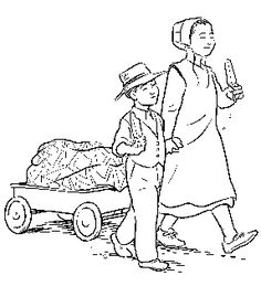 236x259 Amish Coloring Pages Art Activities For My Kids