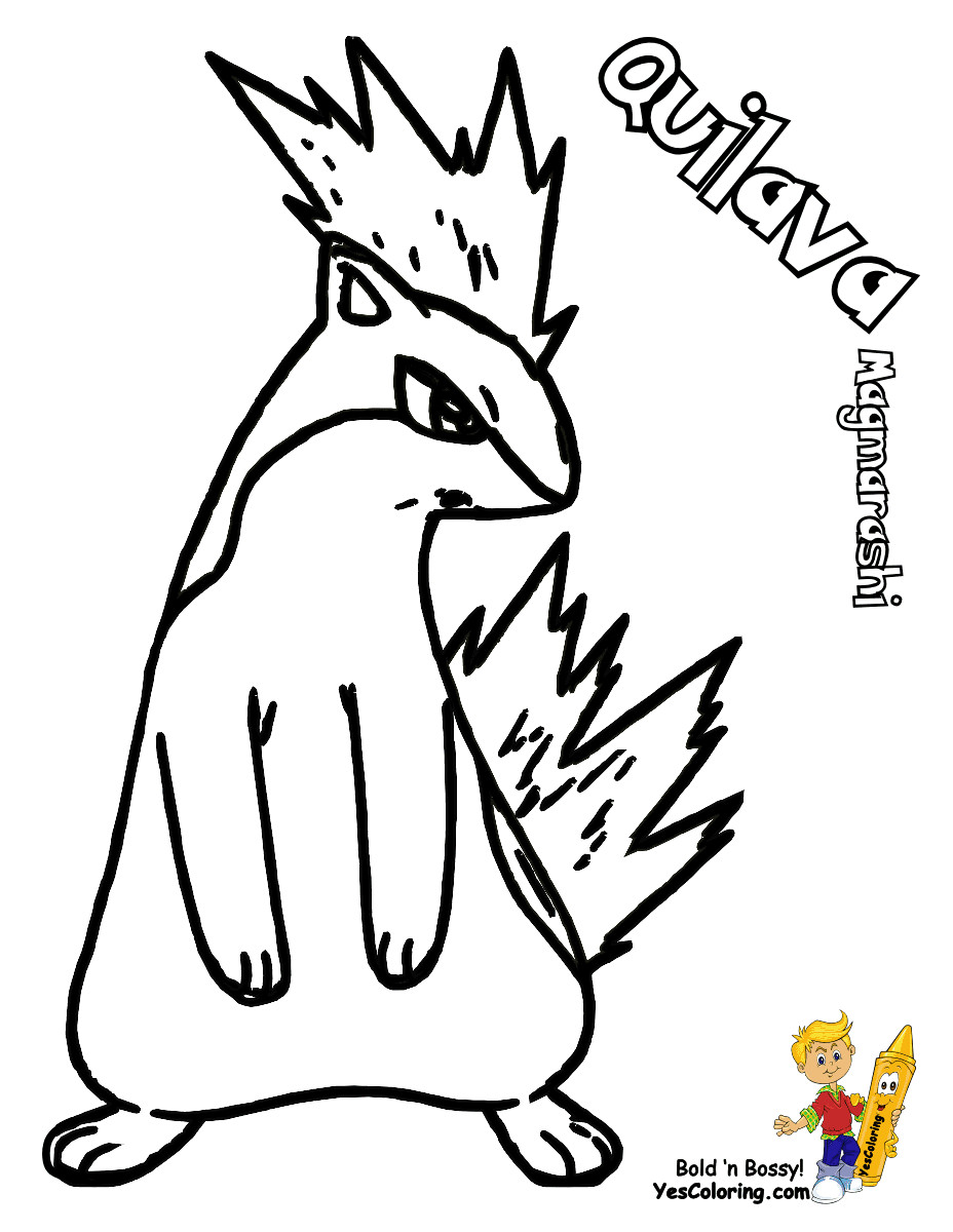 Ampharos Coloring Pages At Getdrawings Com Free For Personal Use