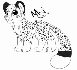 300x275 Leopard Coloring Pages Photograph Snow Leopard Coloring Pages Free