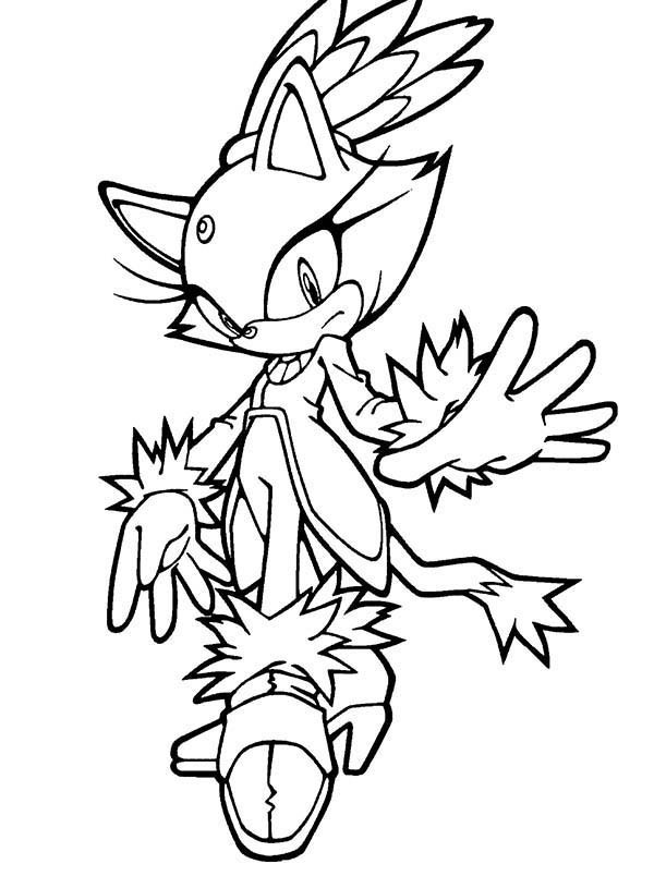 Amy Sonic Coloring Pages At Getdrawings Com Free For Personal Use