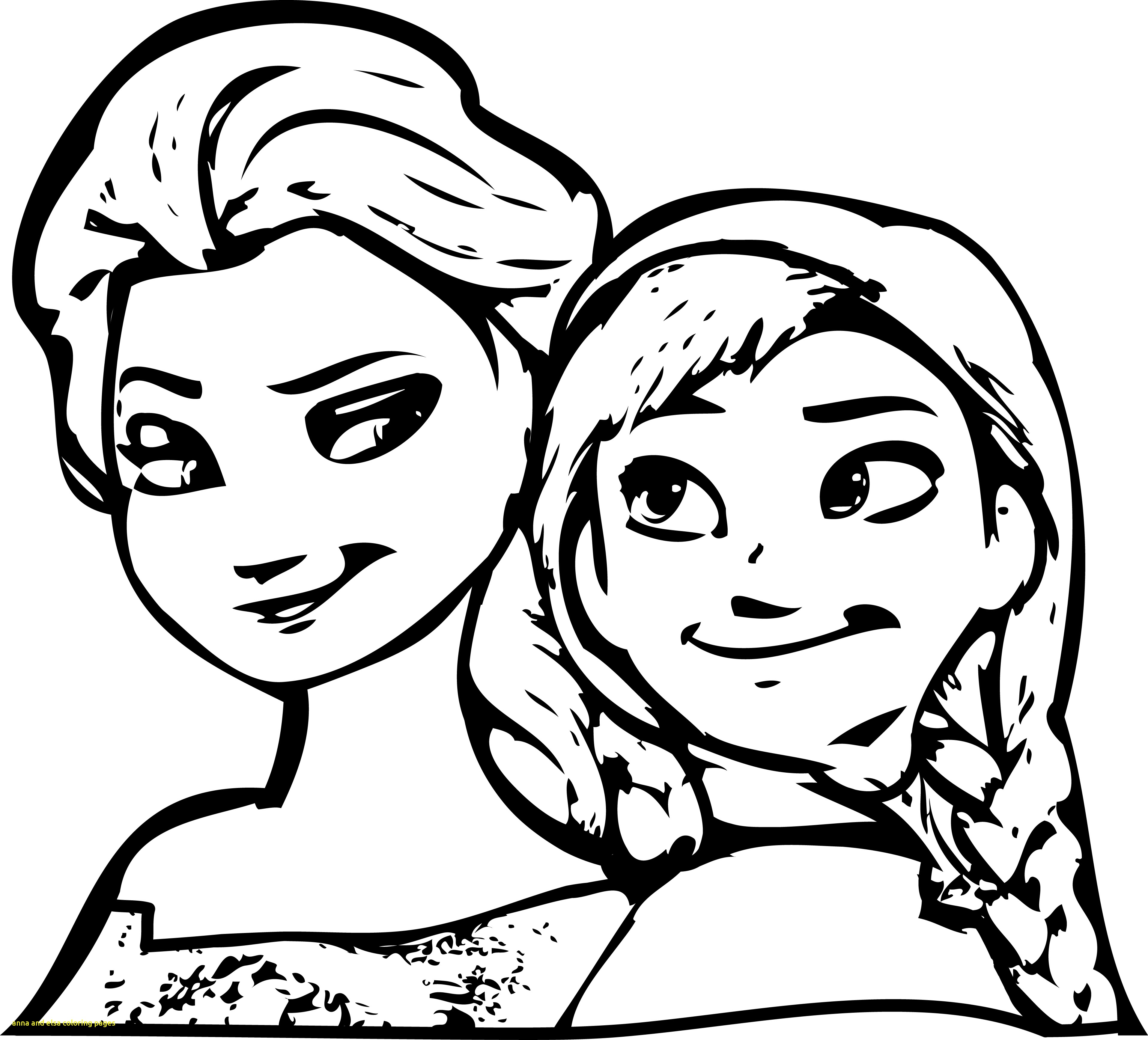3829x3470 Anna And Elsa Coloring Pages With Elsa And Anna Hugging Coloring