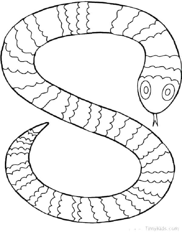 600x766 Famous Anaconda Snake Coloring Pages Pictures Inspiration Boa