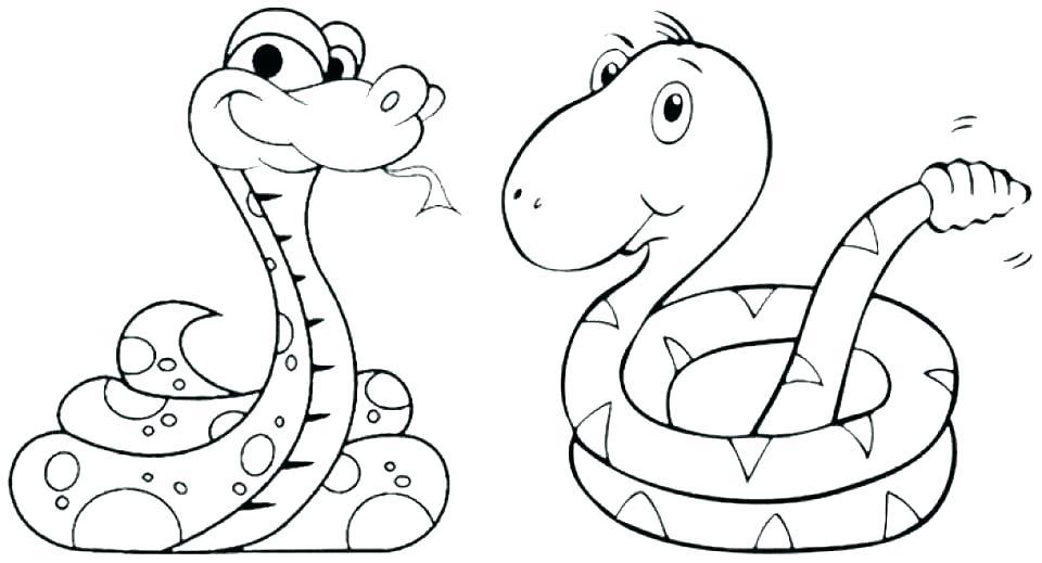 960x519 Anaconda Coloring Pages