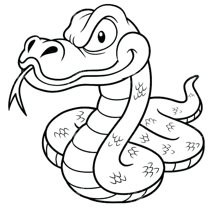 728x728 Anaconda Coloring Pages Free Printable Snake Coloring Pages