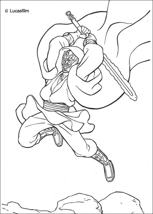 607x850 Anakin Skywalker Coloring Pages