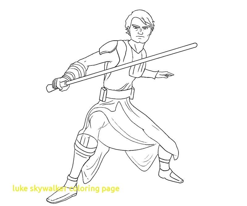 800x667 Luke Skywalker Coloring Page Lovely Anakin Skywalker